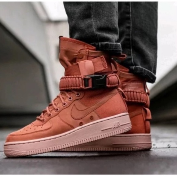 Nike Shoes   Nike Sf Af Dusty Peach